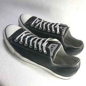 All Star Converse leather low top Chuck Taylors